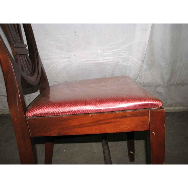 Classic Mahogany Dining Chairs - Set of 6 For Sale - Image 11 of 12