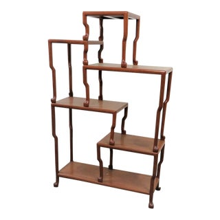Chinese Rosewood Multi-Tier Etagere For Sale
