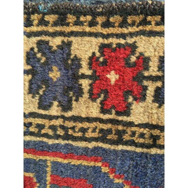 "Vintage Persian Baluchi Rug - 2'10""x4'9"" - Image 10 of 10"