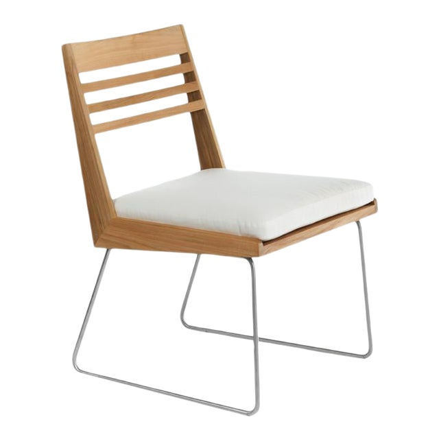 Summit Furniture Boomerang Dining Side Chair For Sale