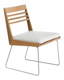 Image of Steel Outdoor Dining Chairs