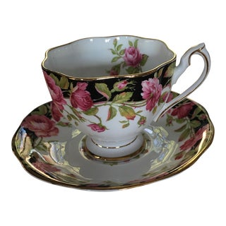 Queen Anne Black Magic Tea Cup