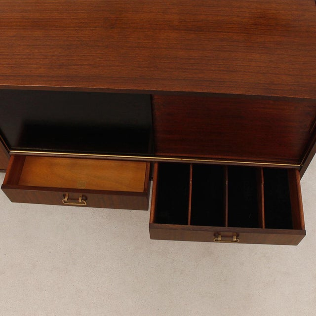 G-Plan E Gomme Ltd. English Modern Sideboard Bar Cabinet - Image 3 of 9