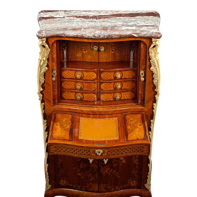 Jean-René Nadal L'Ainé Tambour-Front Secretaire For Sale - Image 4 of 6