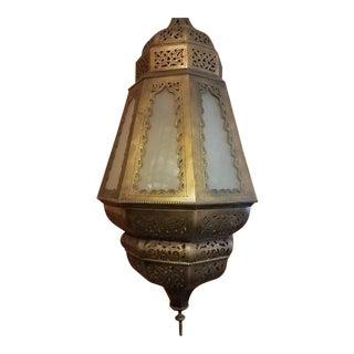 Vintage Moroccan Copper Lantern