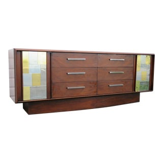 Paul Evans Cityscape Style Credenza by Lane For Sale