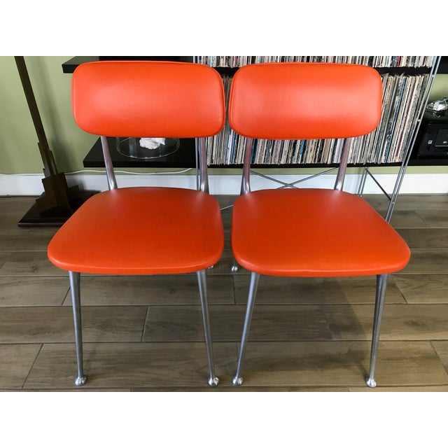 Pair of Gazelle Chairs - Newly Upholstered For Sale - Image 10 of 13