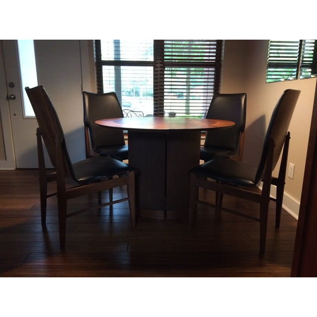 Mid Century Table & Chairs Dining Set - Image 7 of 11
