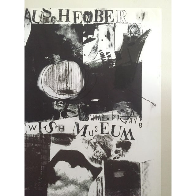 Robert Rauschenberg-At the Jewish Museum-1963 Lithograph