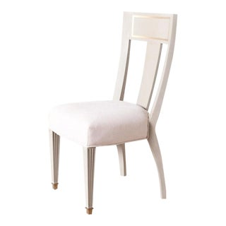 Gustavian Brass Detailed Side Chair For Sale