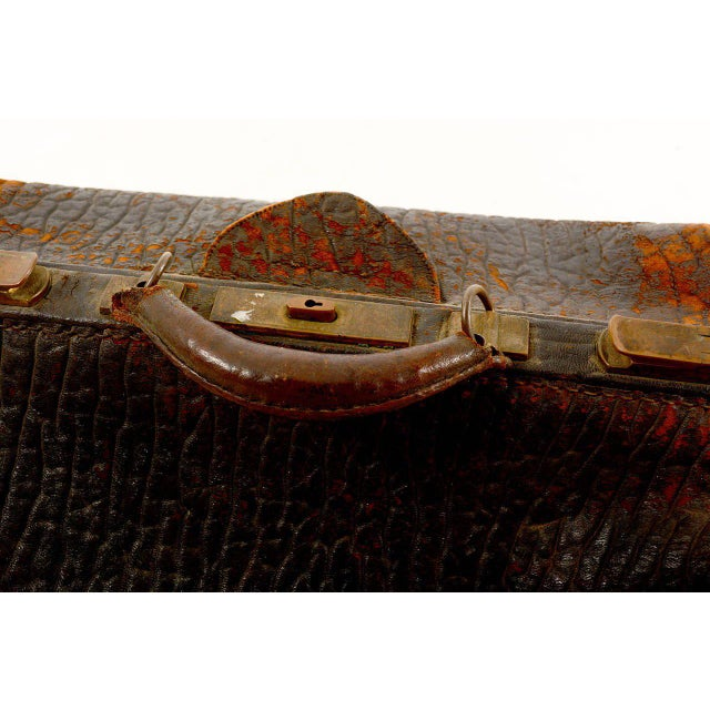 Leather Doctor's Bag For Sale - Image 10 of 10