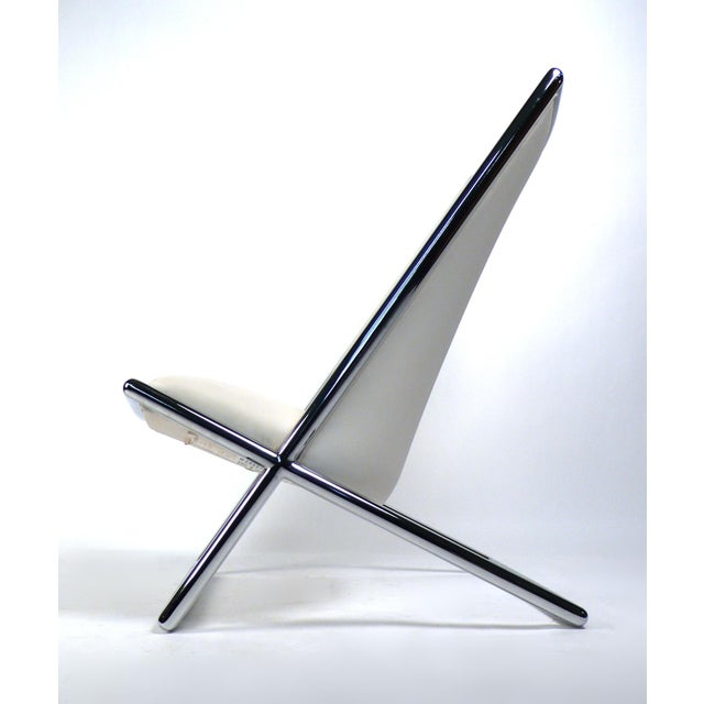 Scissor Lounge Chairs by Ward Bennett For Sale In Dallas - Image 6 of 9