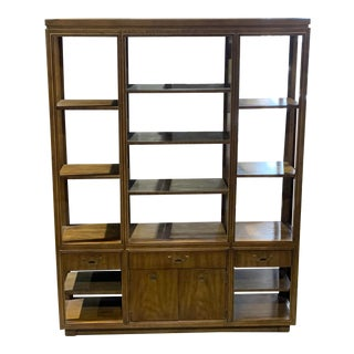 Asian Drexel Associate China Hutch For Sale
