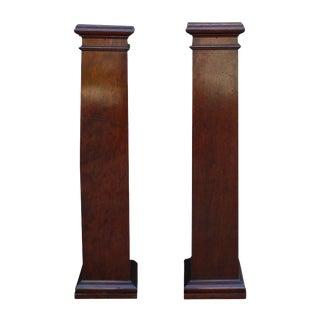 20th Century Arts & Crafts Pedestals - A Pair For Sale