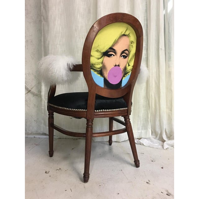 Contemporary Marilyn Monroe Chair For Sale - Image 3 of 6