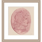 "Image of Medium ""Pink Medusa Head"" Print by Michelle Farro, 18"" X 22"" For Sale"