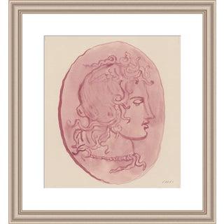 "Medium ""Pink Medusa Head"" Print by Michelle Farro, 18"" X 22"" For Sale"