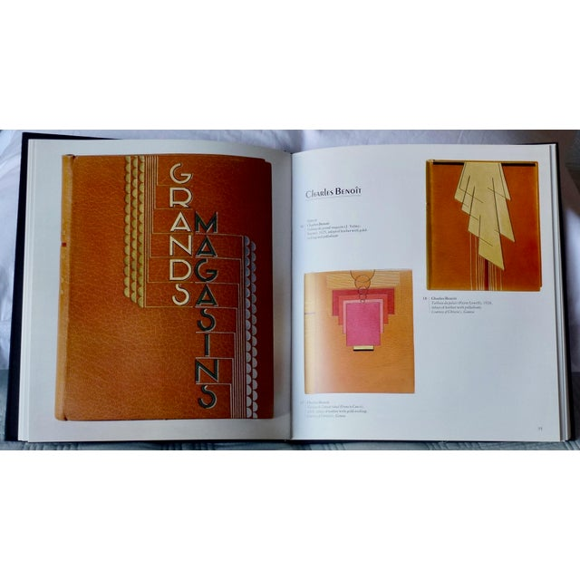 """1960s Vintage """"Art Nouveau and Art Deco Book Binding"""" Book For Sale In New York - Image 6 of 9"""