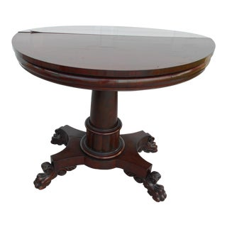 18th Century Traditional Mahogany Game Table For Sale