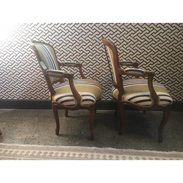 Modern A Pair of Fateuil Chair For Sale - Image 3 of 5