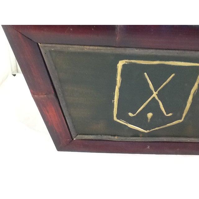 Vintage Golf Motif Box - Image 4 of 8