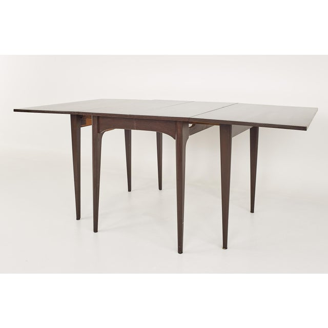 Kroehler Refinished Mid Century Drop Leaf Dining Table For Sale In Chicago - Image 6 of 12