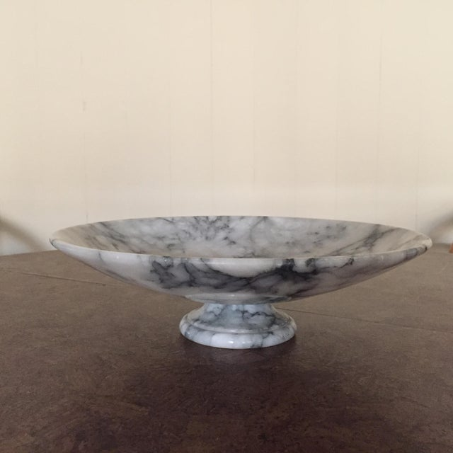 This beautiful marble pedestal bowl graced my grandmother's coffee table for years. It is one of my favorite pieces from...