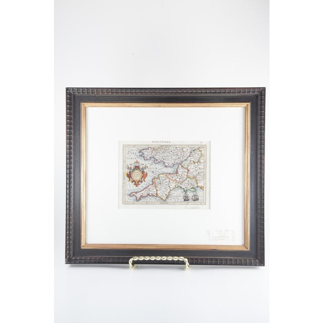 English Traditional Antique Map of England For Sale - Image 3 of 6
