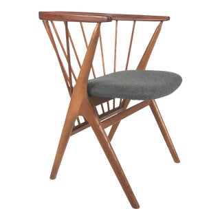 Vintage Danish Helge Sibast Model #8 Teak Dining Chair