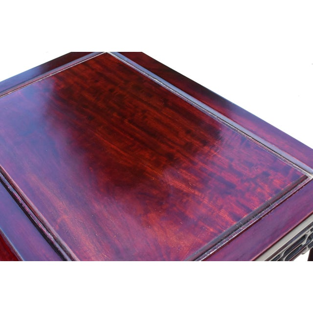 Chinese Rosewood Nesting Tables - Set of 4 For Sale - Image 9 of 13