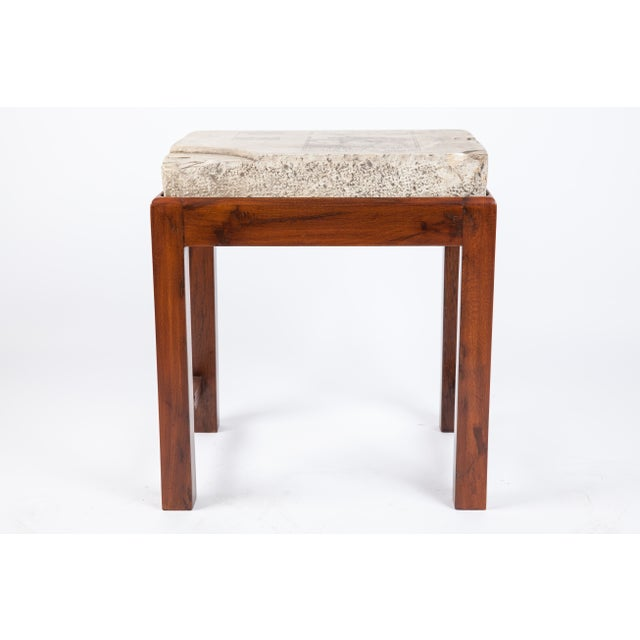 Indian Lithographed Stone Table II - Image 4 of 6