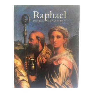"Rare Vintage 1983 ""Raphael"" Renaissance Paintings Hardcover Art Book For Sale"