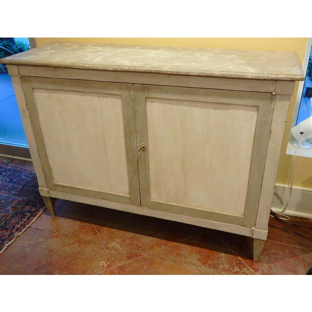 Italian Early 19th Century Italian Painted Buffet For Sale - Image 3 of 10