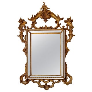 Italian Rococo Mirror by La Barge For Sale