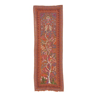 "19th Century Kerman ""Termeh"" Embroidery Textile Art For Sale"