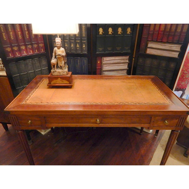 Louis XVI 19th C French Louis XVI Style Game Table/Writing Desk For Sale - Image 3 of 8