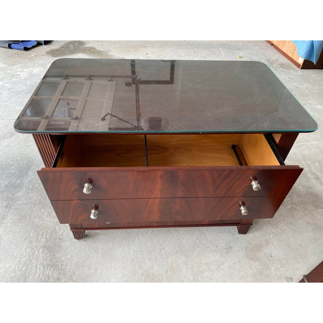 2000 - 2009 Sligh Mahogany File Cabinet For Sale - Image 5 of 8