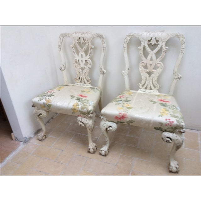English Country House Chairs - A Pair For Sale - Image 11 of 11