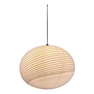Vistosi Murano pendant Glass Globe Circular 45 cm, 1970