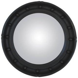 Ebonized Convex Mirror For Sale
