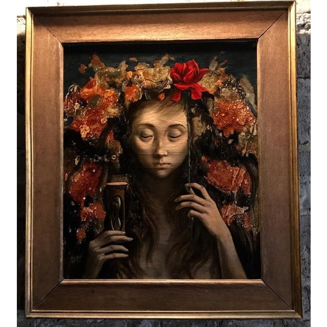 French 1950s Vintage Jean-Pierre Alaux French Oil Painting For Sale - Image 3 of 3