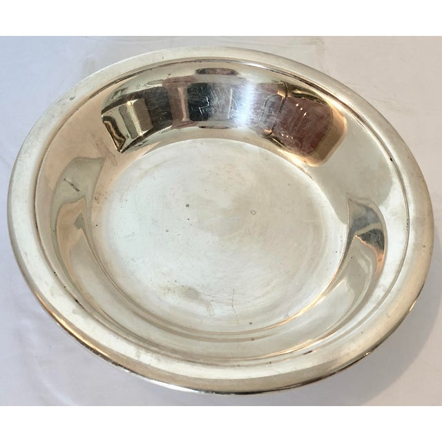 1970s Reed & Barton Bowl & Candy Dish For Sale - Image 5 of 8