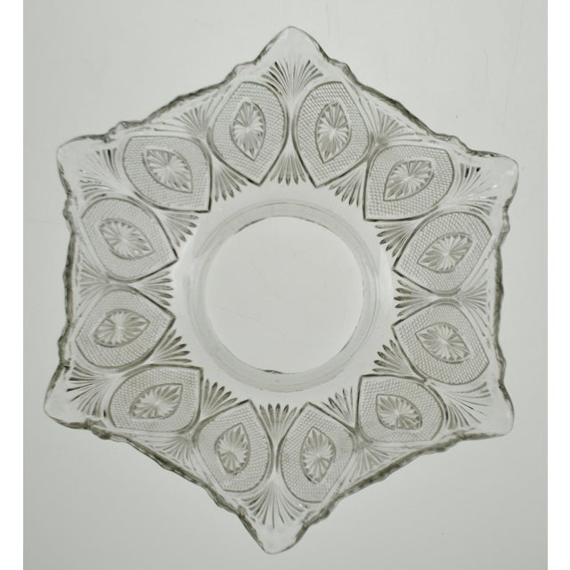 Victorian Style Pressed Glass Gas Light Shade For Sale - Image 4 of 13