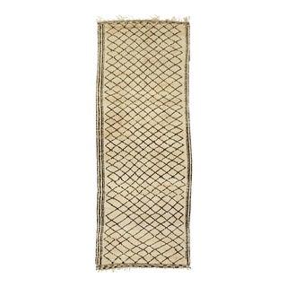 Moroccan Nomad Beni Ouarain Carpet - 5′9″ × 15′4″