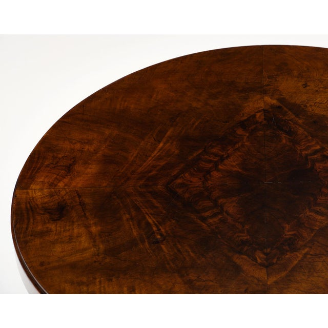 Art Deco Art Deco Period Walnut Gueridon Table For Sale - Image 3 of 10