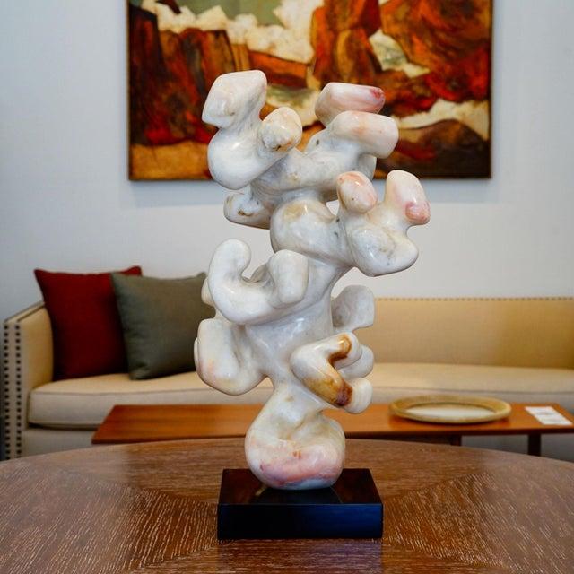 White Edward Meyrowitz Sculpture For Sale - Image 8 of 12