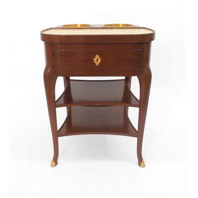 Frederick P. Victoria & Son, Inc. Refraichissoir Table For Sale - Image 4 of 7