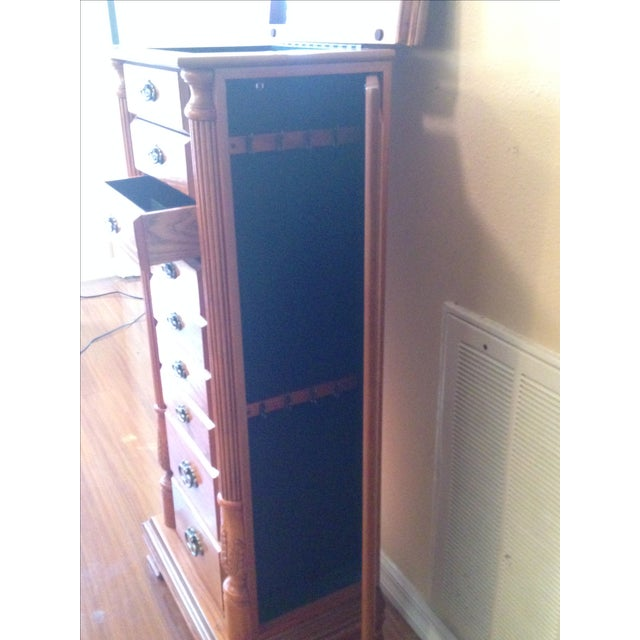 Emily Powell Wood Jewelry Cabinet - Image 5 of 8