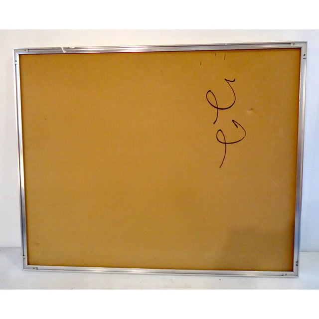 "Vintage Modern Wall Art "" Aries "" For Sale - Image 10 of 11"