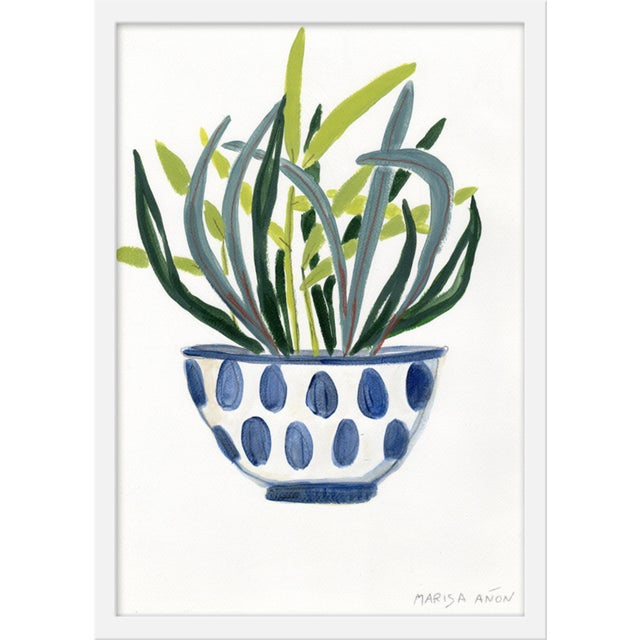 """Contemporary Medium """"Plants 4"""" Print by Marisa Anon, 17"""" X 24"""" For Sale - Image 3 of 3"""